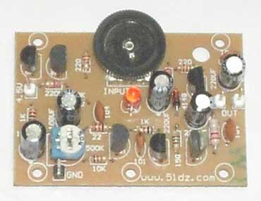 文字版  分立otl电路元件包 配有制作说明,原理图,元件清单,电路板